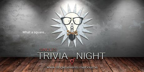 Singles Trivia Night | Age 27-42 | August tickets