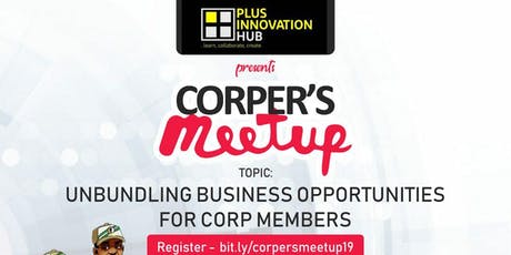 Corpers Meetup 2019 tickets