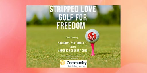 Stripped Love Golf for Freedom