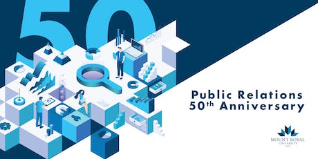 Mount Royal Public Relations Program 50th Anniversary  tickets