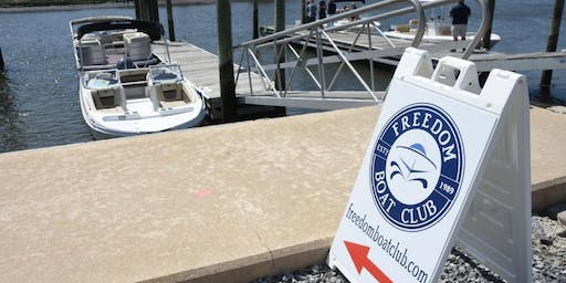 Freedom Boat Club DE - Grand Opening Celebration at Lewes Ferry Terminal