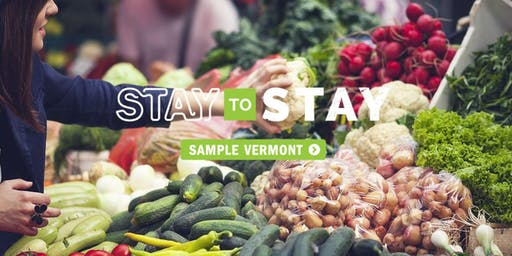 Stay To Stay: Friday Reception at the Arlington Farmers' Market