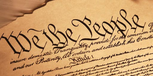 History Lecture - The Constitution - Sunday April 26, 2020 at 2:00 pm