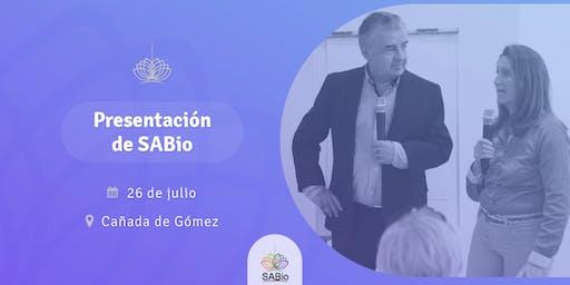 Presentación de SABio en Cañada de Gómez