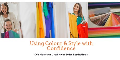 Using Colour & Style with Confidence - Styling Masterclasses at Colmers Hill tickets