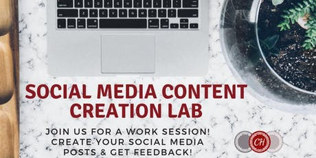 Social Media Content Creation LAB tickets