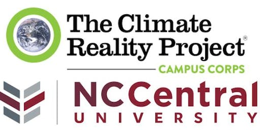 The NCCU Climate Reality Campus Corps' Climate Symposium