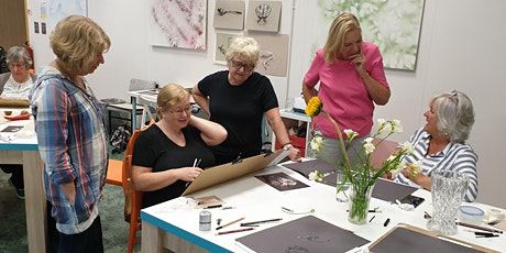 Temporarily cancelled - Learn to draw and paint : Beginners' Art classes tickets
