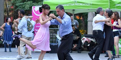 Strictly Tango at Washington Square Park