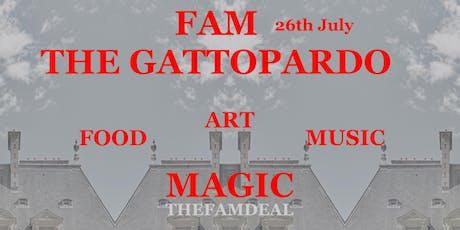 FAM-THE GATTOPARDO NIGHT  bilhetes