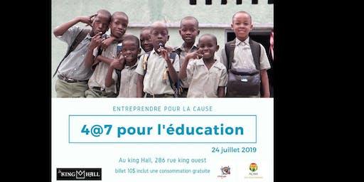 4@7 pour l'éducation