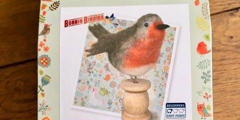 Robin on a Bobbin - Festive Needle Felting Class