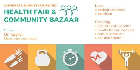 Health Fair & Community Bazaar 2019 tickets