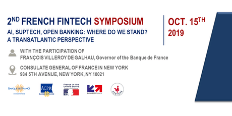 "2ND FRENCH FINTECH SYMPOSIUM ""Al, Suptech, Open banking: Where do we stand? A transatlantic perspective"" tickets"