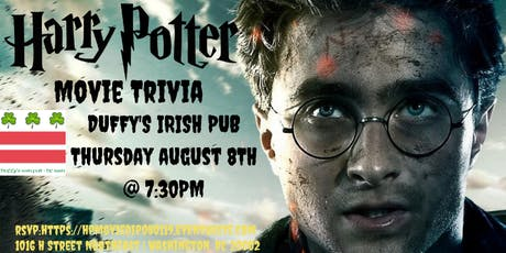 ***DATE CHANGE*** Harry Potter (Movie) Trivia at Duffy's Irish Pub tickets