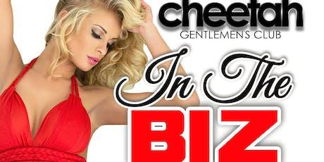 Cheetah IN THE BIZ tickets