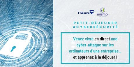 Comment protéger efficacement les données de votre entreprise ? Venez vivre une cyber-attaque en temps réel ! billets