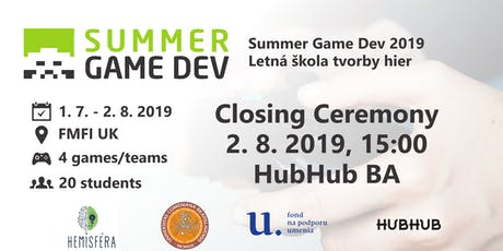 Closing Ceremony - Summer Game Dev 2019 tickets