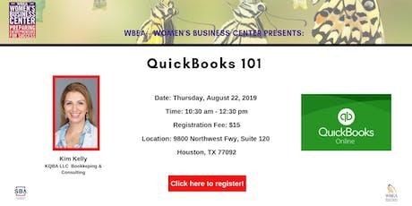 QuickBooks 101 tickets