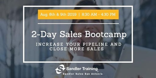 Sales Training 2 Day Bootcamp