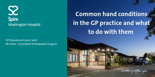 Common hand conditions in the GP practice and what to do with them.