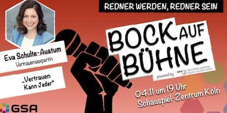 Bock auf Bühne: Eva Schulte-Austum Tickets