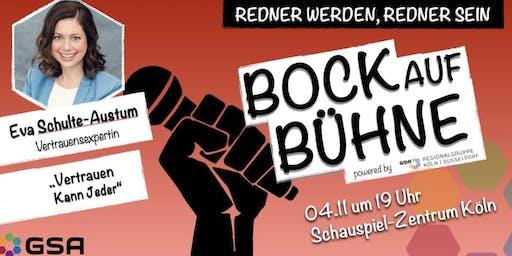 Bock auf Bühne: Eva Schulte-Austum