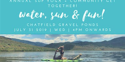 Annual SUP Yoga + Community!