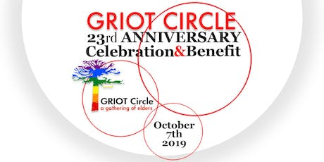 GRIOT Circle's 23rd Anniversary Celebration and Benefit  tickets