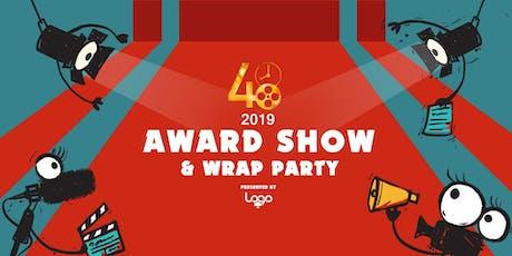 2019 Award Show & Wrap Party tickets