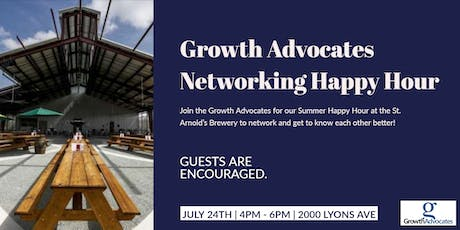 Growth Advocates Summer Networking Happy Hour tickets