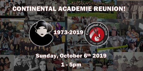 Continental Academie of Hair Design Reunion tickets