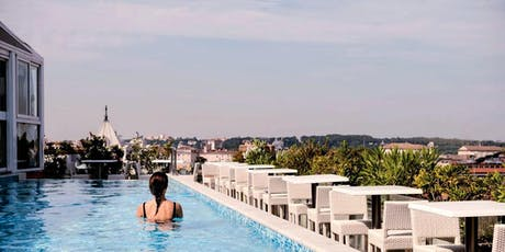 Sunset Aperitif Rooftop • Pool Terrace Palazzo Naiadi Roma! tickets