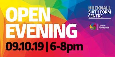 Hucknall Sixth Form Centre - Open Evening 2019