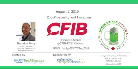 Green Drinks Ottawa - Eco-Prosperity and Localism tickets