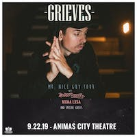 Grieves - Mr. Nice Guy Tour w/ Mouse Powell & MXNA LXSA