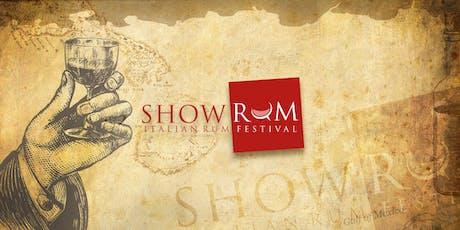 ShowRUM - Italian Rum Festival 2019 biglietti