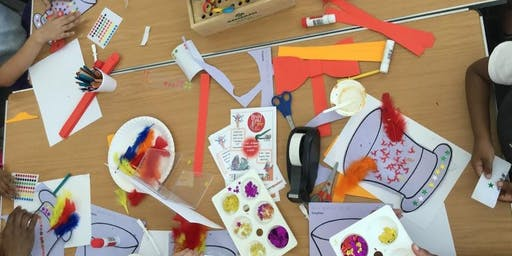 Saturday Space Craft in the Library@Deptford Lounge