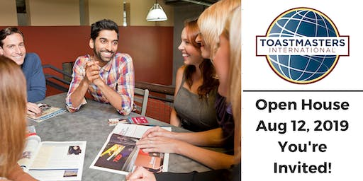 Anniversary Open House - Talk of the Town Toastmasters Club