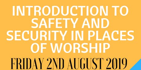 Nottingham - INTRODUCTION TO SAFETY AND SECURITY IN PLACES OF WORSHIP tickets