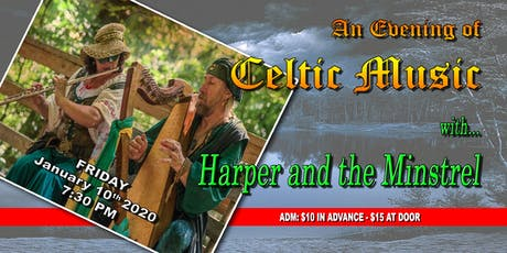 The Harper and the Minstrel tickets