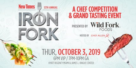 Miami New Times Iron Fork 2019 tickets