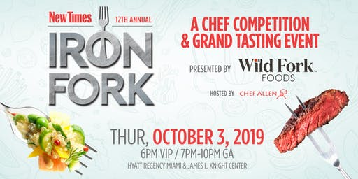 Miami New Times Iron Fork 2019