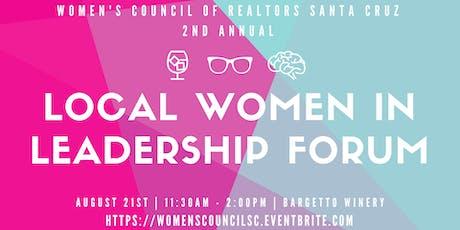 Local Women in Leadership Forum tickets