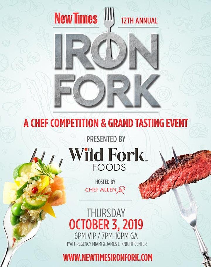 Miami New Times Iron Fork 2019 image