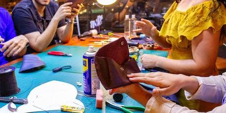 Dromedary Leather Crafting Workshop (Week 5 - August) tickets