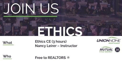 Ethics CE for Realtors