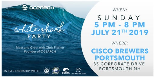 Portsmouth White Shark Party!