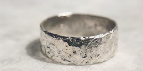 Clase de Joyería - Construye tu primer anillo.  boletos