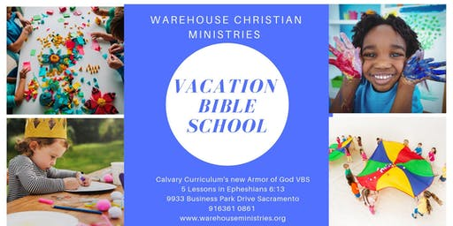 Warehouse Christian Ministries Armor of God  Vacation Bible School